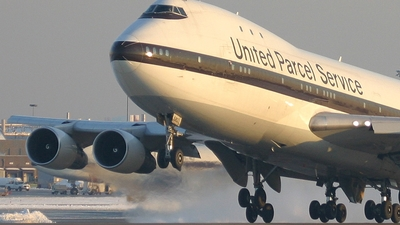 N682UP - Boeing 747-121(SF) - United Parcel Service (UPS)