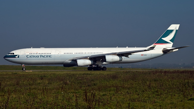B-HXA - Airbus A340-313X - Cathay Pacific Airways
