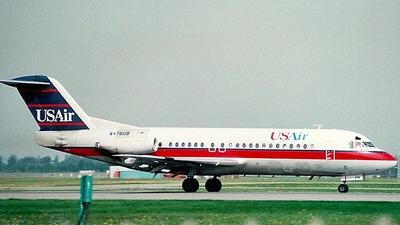 N476US - Fokker F28-4000 Fellowship - USAir