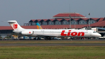 PK-LMR - McDonnell Douglas MD-82 - Lion Air