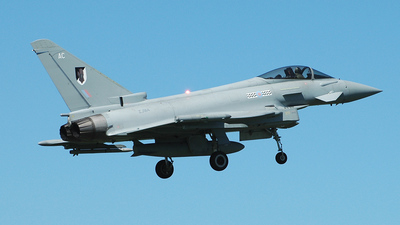 ZJ914 - Eurofighter Typhoon F.2 - United Kingdom - Royal Air Force (RAF)