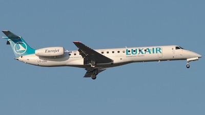 LX-LGU - Embraer ERJ-145EP - Luxair - Luxembourg Airlines