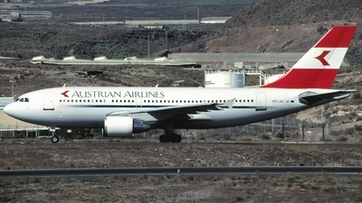 OE-LAC - Airbus A310-324 - Austrian Airlines