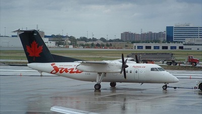 C-GION - Bombardier Dash 8-102 - Air Canada Jazz