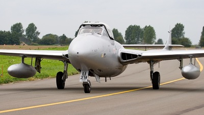 F-AZGU - De Havilland Vampire T.55 - Private