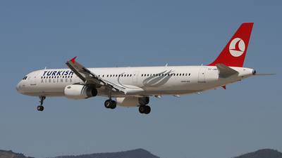 TC-JMH - Airbus A321-232 - Turkish Airlines