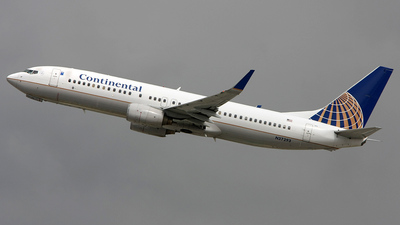 N37293 - Boeing 737-824 - Continental Airlines