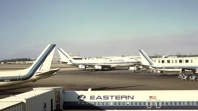 N736PA - Boeing 747-121 - Eastern Air Lines