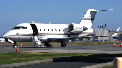 N601BW - Bombardier CL-600-2B16 Challenger 604 - Private