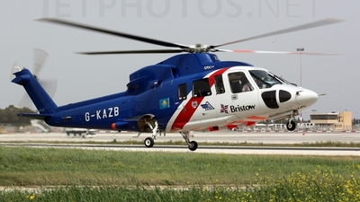 A picture of GKAZB - Sikorsky S76C++ - Bristow Helicopters - © Massimo Farrugia