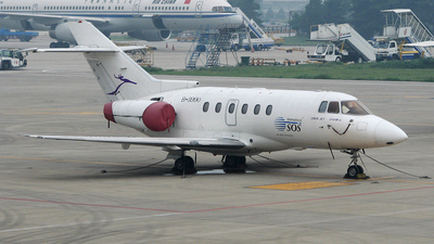 B-3990 - Raytheon Hawker 800XP - Deer Jet