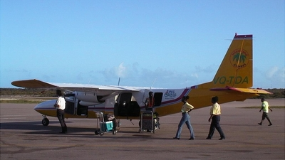 VQ-TDA - Britten-Norman BN-2 Islander - InterIsland Airways