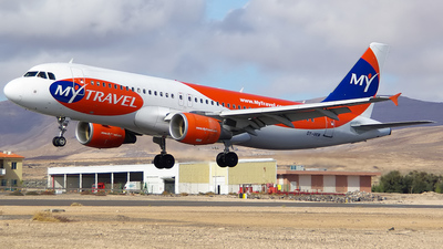 OY-VKM - Airbus A320-214 - MyTravel Airways AS