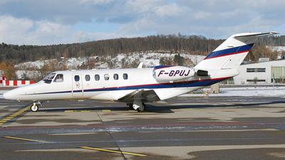 F-GPUJ - Cessna 525A CitationJet 2 - Unijet