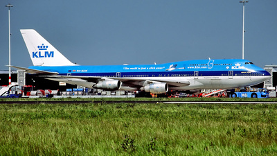 PH-BUM - Boeing 747-206B(M)(SUD) - KLM Royal Dutch Airlines