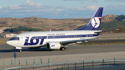 SP-LKB - Boeing 737-55D - LOT Polish Airlines