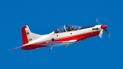 2036 - Pilatus PC-7 Mk.II - South Africa - Air Force