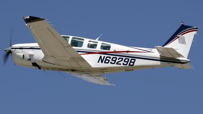 A picture of N6929B - Beech B36TC Bonanza - [EA414] - © Terry Figg