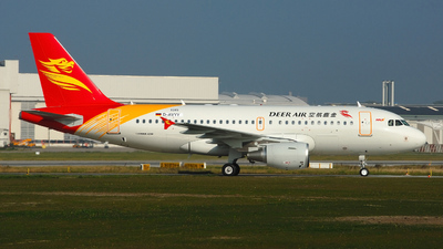 D-AVYY - Airbus A319-112 - Deer Air