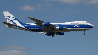 VP-BIA - Boeing 747-243F(SCD) - Air Bridge Cargo