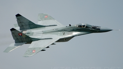 6627 - Mikoyan-Gurevich MiG-29AS Fulcrum - Slovakia - Air Force