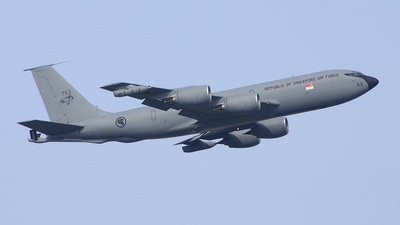 753 - Boeing KC-135R Stratotanker - Singapore - Air Force