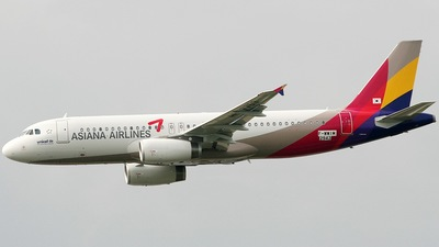 F-WWIM - Airbus A320-232 - Asiana Airlines