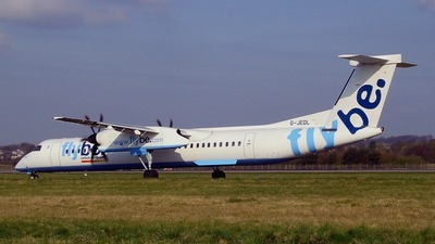 G-JEDL - Bombardier Dash 8-Q402 - Flybe
