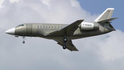 A picture of FWWGK - Dassault Falcon 2000 - [] - © Romain Salerno / Aeronantes Spotters