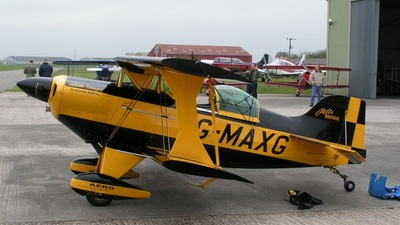 G-MAXG - Aviat S-1S Pitts Special - Private