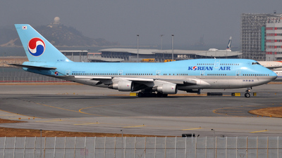HL7607 - Boeing 747-4B5 - Korean Air