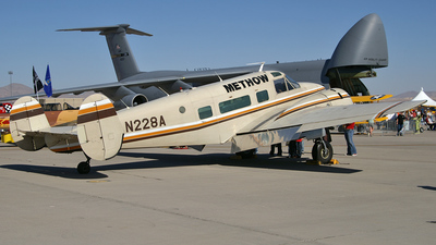 N228A - Beech H18 - Private