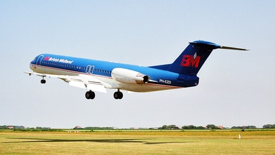 PH-EZD - Fokker 100 - bmi British Midland International