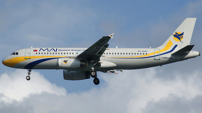 XY-AGG - Airbus A320-231 - Myanmar Airways International (MAI)