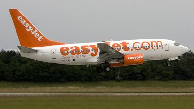 G-EZJP - Boeing 737-73V - easyJet