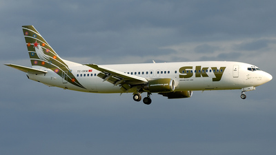 TC-SKM - Boeing 737-49R - Sky Airlines