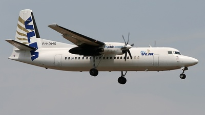 PH-DMS - Fokker 50 - VLM Airlines