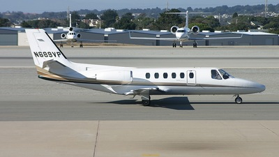 N689VP - Cessna 550 Citation II - Private