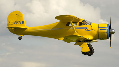G-BRVE - Beechcraft D17S Staggerwing - Private