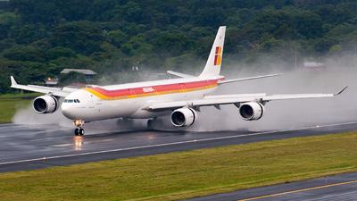 EC-LFS - Airbus A340-642X - Iberia