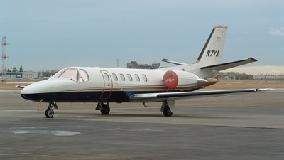 N7YA - Cessna 550 Citation II - Private