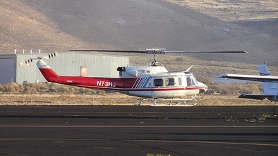 A picture of N73HJ - Bell 212 - [30552] - © mike evans
