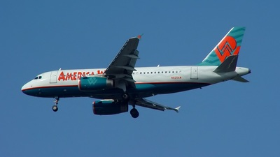 N825AW - Airbus A319-132 - America West Airlines