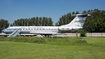 HA-LBF - Tupolev Tu-134 - Malév Hungarian Airlines