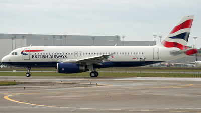 F-WWBV - Airbus A320-232 - British Airways