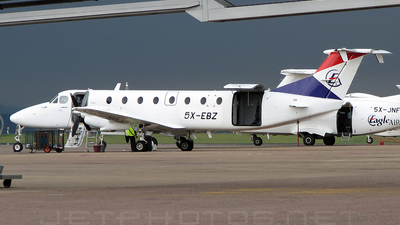5X-EBZ - Beech 1900C - Eagle Air
