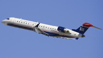 N718PS - Bombardier CRJ-701ER - US Airways Express (PSA Airlines)