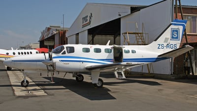 ZS-RGS - Cessna 441 Conquest II - Private