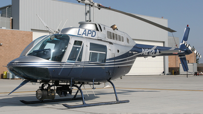 N212LA - Bell 206B JetRanger - United States - Los Angeles Police Department (LAPD)