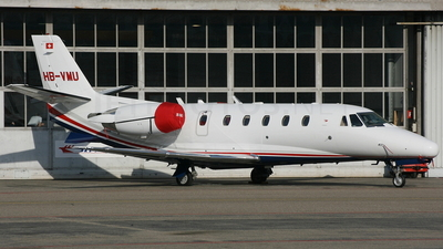 HB-VMU - Cessna 560XL Citation Excel - Jet Aviation Business Jets